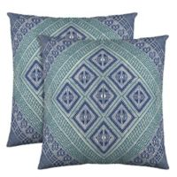 Colorfly™ Kensie Throw Pillow in Teal (Set of 2)