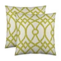 Colorfly™ Piper Throw Pillow in Citrus (Set of 2)