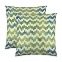 Colorfly™ Pixie Throw Pillow in Moss (Set of 2)