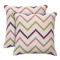 Colorfly™ Wren Throw Pillow in Sorbet (Set of 2)