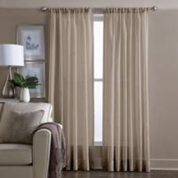 Wamsutta® Sheer 108-Inch Window Curtain Panel in Linen