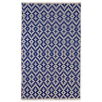 Fab Habitat Samsara 5-Foot x 8-Foot Area Rug in Indigo & Natural