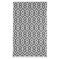 Fab Habitat Samsara 6-Foot x 9-Foot Area Rug in Charcoal & White