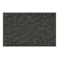Weather Guard™ Boxwood 23-Inch x 36-Inch Door Mat in Charcoal