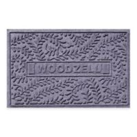 Weather Guard™ Boxwood 23-Inch x 36-Inch Door Mat in Blue Stone