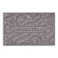 Weather Guard™ Boxwood 23-Inch x 36-Inch Door Mat in Medium Grey