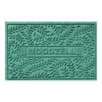 Weather Guard™ Boxwood 23-Inch x 36-Inch Door Mat in Aquamarine