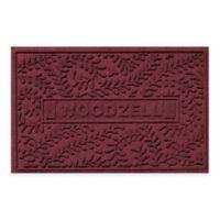 Weather Guard™ Boxwood 23-Inch x 36-Inch Door Mat in Bordeaux