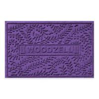 Weather Guard™ Boxwood 23-Inch x 36-Inch Door Mat in Purple