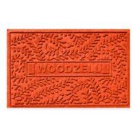 Weather Guard™ Boxwood 23-Inch x 36-Inch Door Mat in Orange