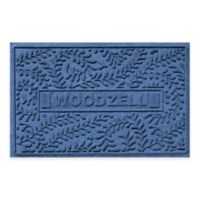 Weather Guard™ Boxwood 23-Inch x 36-Inch Door Mat in Navy