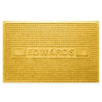 Weather Guard™ Squares 23-Inch x 36-Inch Door Mat in Yellow