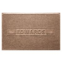 Weather Guard™ Squares 23-Inch x 36-Inch Door Mat in Medium Brown