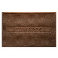 Weather Guard™ Squares 23-Inch x 36-Inch Door Mat in Dark Brown