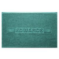 Weather Guard™ Squares 23-Inch x 36-Inch Door Mat in Aquamarine