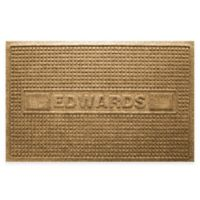 Weather Guard™ Squares 23-Inch x 36-Inch Door Mat in Gold