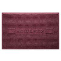 Weather Guard™ Squares 23-Inch x 36-Inch Door Mat in Bordeaux