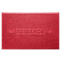 Weather Guard™ Squares 23-Inch x 36-Inch Door Mat in Red