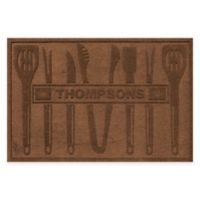 Weather Guard™ BBQ Tools 30-Inch x 45-Inch Mat in Dark Brown