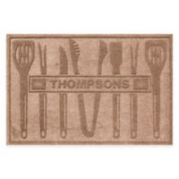 Weather Guard™ BBQ Tools 30-Inch x 45-Inch Mat in Medium Brown