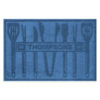 Weather Guard™ BBQ Tools 30-Inch x 45-Inch Mat in Medium Blue