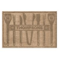 Weather Guard™ BBQ Tools 30-Inch x 45-Inch Mat in Camel