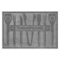 Weather Guard™ BBQ Tools 30-Inch x 45-Inch Mat in Grey