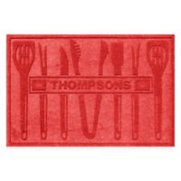 Weather Guard™ BBQ Tools 30-Inch x 45-Inch Mat in Red