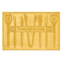 Weather Guard™ BBQ Tools 30-Inch x 45-Inch Mat in Yellow