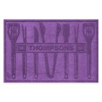 Weather Guard™ BBQ Tools 30-Inch x 45-Inch Mat in Purple
