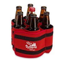 BevBarrel Portable Beverage Carrier in Red