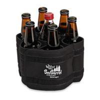 BevBarrel Portable Beverage Carrier in Black