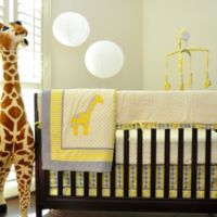 Pam Grace Creations Argyle Giraffe 10-Piece Crib Bedding Set