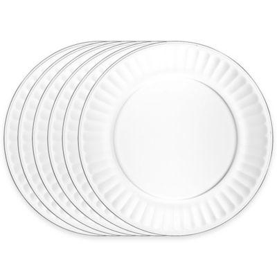 La Rochere Perigord Dinner Plates (Set of 6)  sc 1 st  Bed Bath \u0026 Beyond & Buy Clear Glass Dinner Plates from Bed Bath \u0026 Beyond
