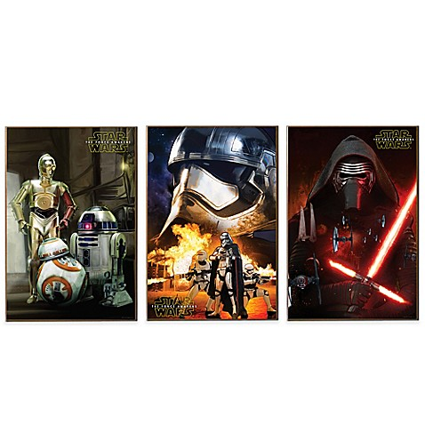 Star Wars Episode Vii Wall D 233 Cor Plaques Bed Bath Amp Beyond