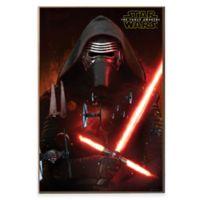 Star Wars™ Episode VII Kylo Ren Poster Wall Décor Plaque