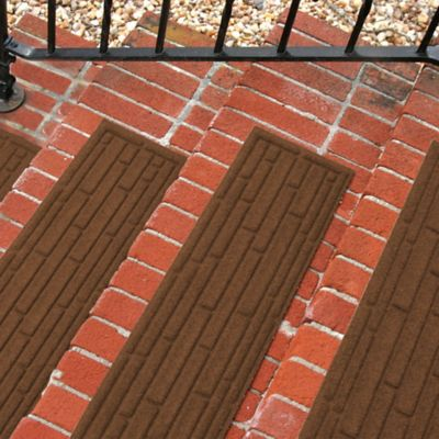 Weather Guard™ Broken Brick 30 Inch X 8.5 Inch Stair Treads In Dark