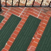 Weather Guard™ Broken Brick 30-Inch x 8.5-Inch Stair Treads in Evergreen (Set of 2)