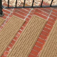 Weather Guard™ Mesh Stair Treads in Camel (Set of 2)