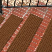 Weather Guard™ Mesh Stair Treads in Dark Brown (Set of 2)