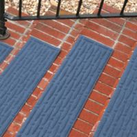 Weather Guard™ Mesh Stair Treads in Medium Blue (Set of 2)