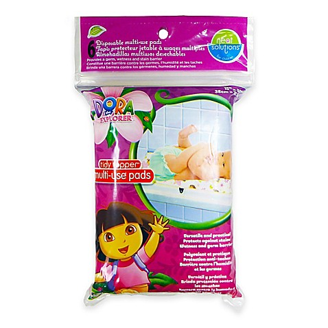 Neat Solutions® Dora the Explorer Changing Table Toppers® (6-Pack)