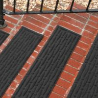 Weather Guard™ Mesh Stair Treads in Charcoal (Set of 2)