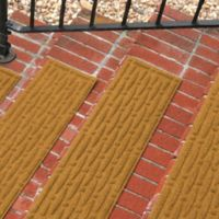 Weather Guard™ Mesh Stair Treads in Gold (Set of 2)