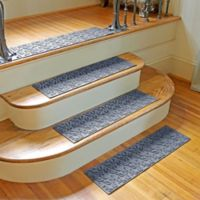 Weather Guard™ Dogwood Leaf Stair Treads in Blue Stone (Set of 2)