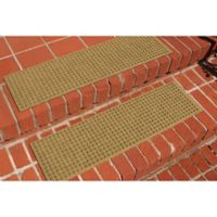 Weather Guard™ Squares Stair Treads in Gold (Set of 2)