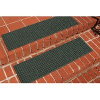 Weather Guard™ Squares Stair Treads in Evergreen (Set of 2)