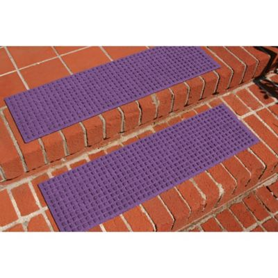 Weather Guard™ Squares Stair Treads In Purple (Set Of 2)
