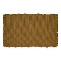 Nature by Geo Crafts Mighty Mariner Cape Cod 24-Inch x 39-Inch Reversible Outdoor Mat in Beige