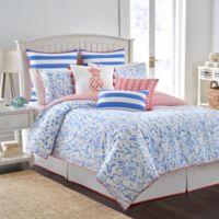 Southern Tide® Coastal Ikat Reversible King Comforter Set in Cool Blue